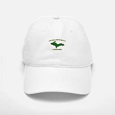 Upper Peninsula Yooper - Gree Baseball Baseball Cap