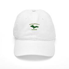 Upper Peninsula Yooper - Gree Baseball Cap
