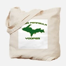 Upper Peninsula Yooper - Gree Tote Bag
