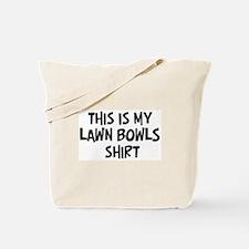 My Lawn Bowls Tote Bag
