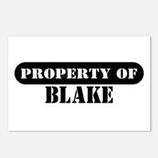 Property of Blake Postcards (Package of 8)
