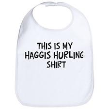 My Haggis Hurling Bib
