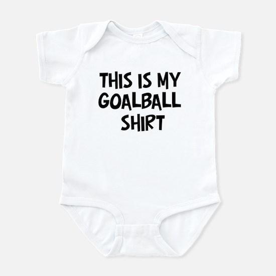 My Goalball Infant Bodysuit