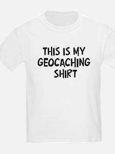 My Geocaching Kids T-Shirt