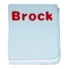 Brock Santa Fur baby blanket