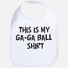 My Ga-Ga Ball Bib