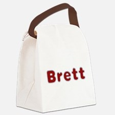 Brett Santa Fur Canvas Lunch Bag