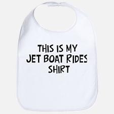 My Jet Boat Rides Bib
