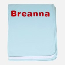 Breanna Santa Fur baby blanket