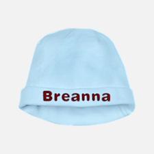 Breanna Santa Fur baby hat
