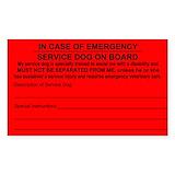 Service dog 10 Pack