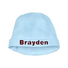 Brayden Santa Fur baby hat
