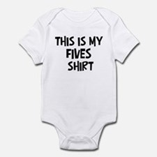 My Fives Infant Bodysuit