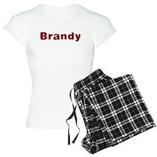 Brandy Santa Fur Pajamas