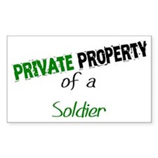 PP Soldier Rectangle Decal