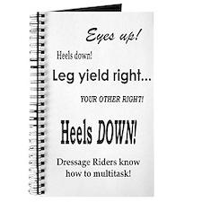 Dressage Riders Multitask Journal