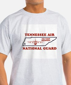 Grey 164th Tactical Airlift Group Tee Shirt