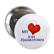 Heart in Hagerstown Button