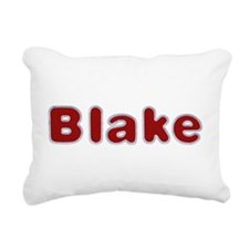 Blake Santa Fur Rectangular Canvas Pillow
