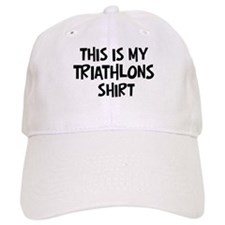 My Triathlons Baseball Cap
