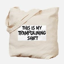 My Trampolining Tote Bag