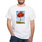 Autumn Nymph White T-Shirt