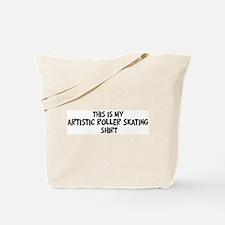 My Artistic Roller Skating Tote Bag