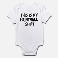 My Paintball Infant Bodysuit