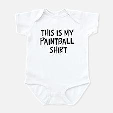 My Paintball Infant Bodysuit