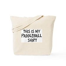 My Paddleball Tote Bag