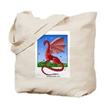 Dragonfield Tote Bag
