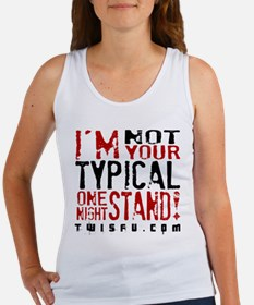ONE NIGHT STAND - WHITE Tank Top