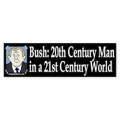 Bush: 20th Century Man Bumper Bumper Sticker