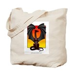 Dragon Dusk Tote Bag