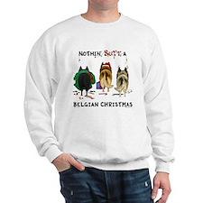 Nothin' Butt A Belgian Xmas Sweatshirt