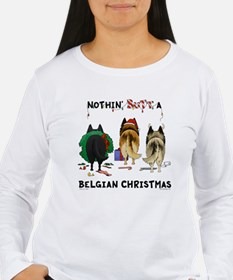 Nothin' Butt A Belgian Xmas T-Shirt
