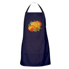 Fall Pumpkins Apron (dark)