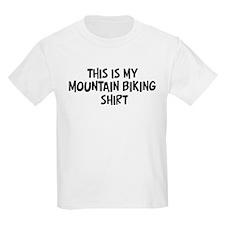 My Mountain Biking Kids T-Shirt