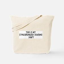 My Synchronized Skating Tote Bag