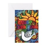 Seasonal and holiday peace dove Greeting Cards (20 Pack)