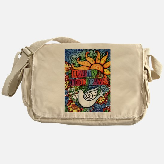 Cute Holiday Messenger Bag
