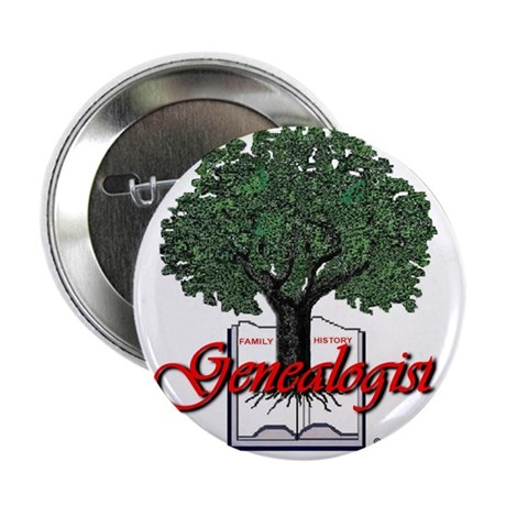 "Genealogist 2.25"" Button (10 pack)"