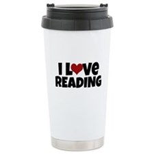 I Love Reading Travel Mug
