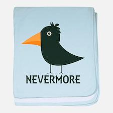 Nevermore Raven baby blanket