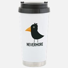 Nevermore Raven Travel Mug