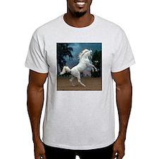 The White Stallion Ash Grey T-Shirt