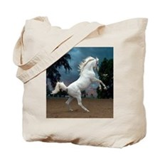The White Stallion Tote Bag