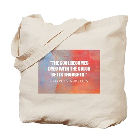 The Soul Becomes Dyed | Tote Bag