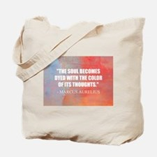 The Soul Becomes Dyed   Tote Bag