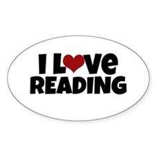 I Love Reading Decal